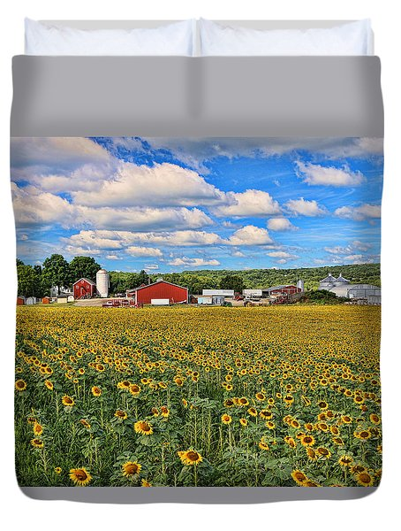 Sunflower Nirvana 17 Duvet Cover