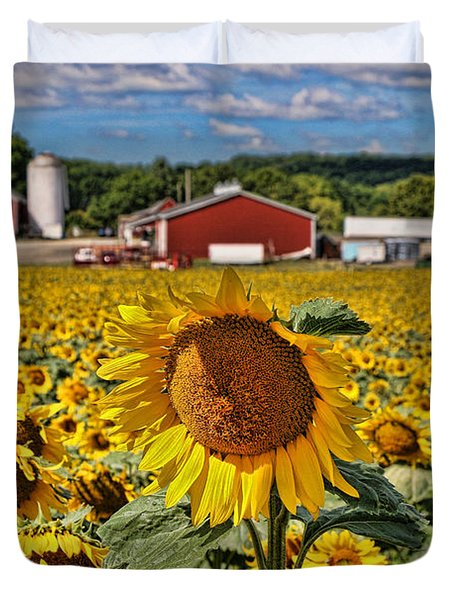 Sunflower Nirvana 21 Duvet Cover