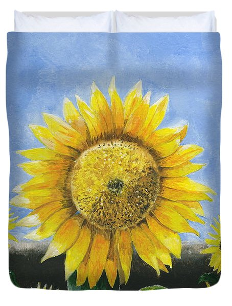 Sunflower Series One Duvet Cover
