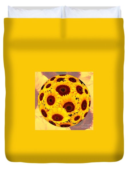 Sunflower Sunshine Duvet Cover