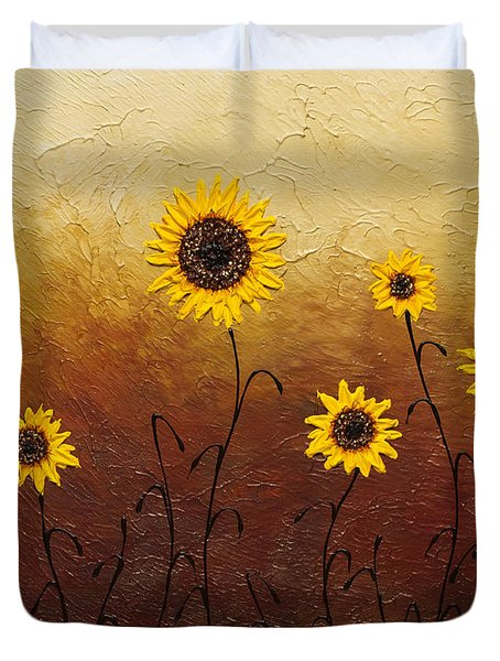 Sunflowers 1 Duvet Cover