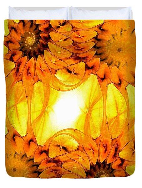 Sunflowers Duvet Cover by Anastasiya Malakhova