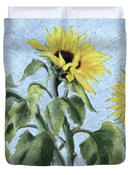 Sunflowers Duvet Cover by Cristiana Angelini
