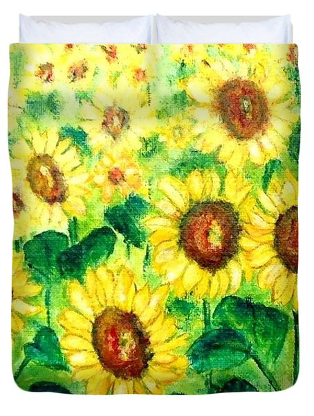 Sunflowers Duvet Cover