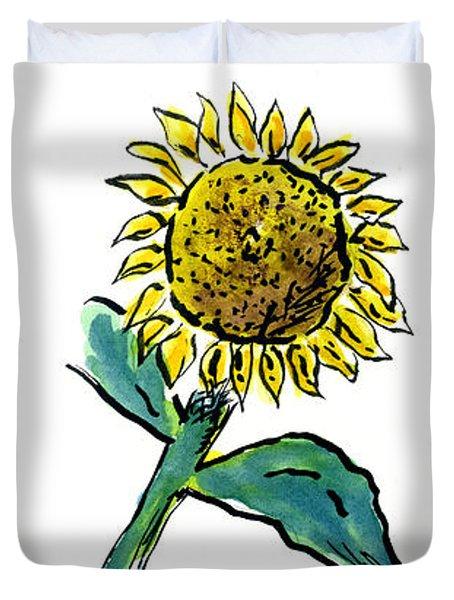 Sunflowers Trio Duvet Cover