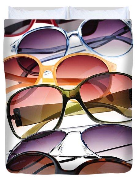 Sunglasses Duvet Cover
