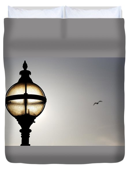 Duvet Cover featuring the photograph Sunlight by Wendy Wilton