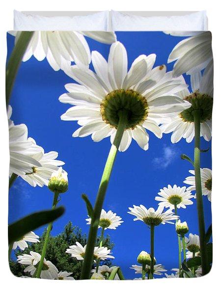 Sunny Side Up Duvet Cover by Pamela Clements