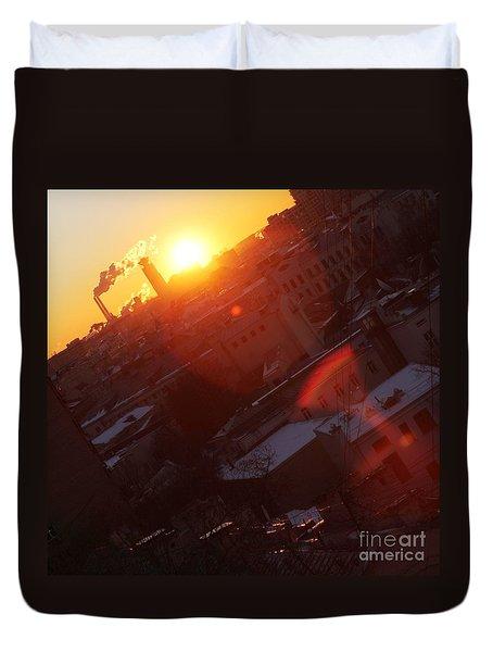 Sunrise  Duvet Cover by Anna Yurasovsky