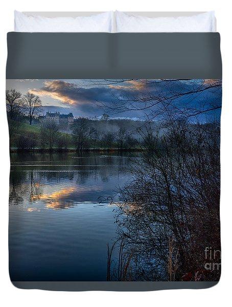 Sunrise At  Biltmore Estate Duvet Cover