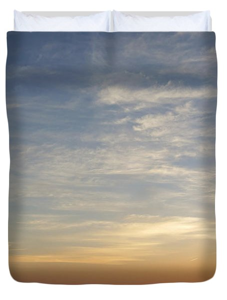 Duvet Cover featuring the photograph Sunrise At Cheyenne Bottoms by Rob Graham