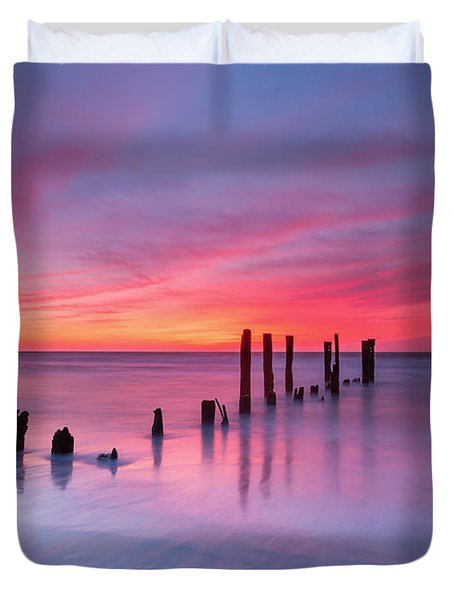 Sunrise At Deal Nj Duvet Cover