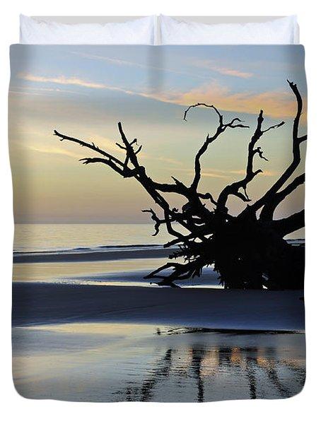 Sunrise At Driftwood Beach 6.6 Duvet Cover by Bruce Gourley