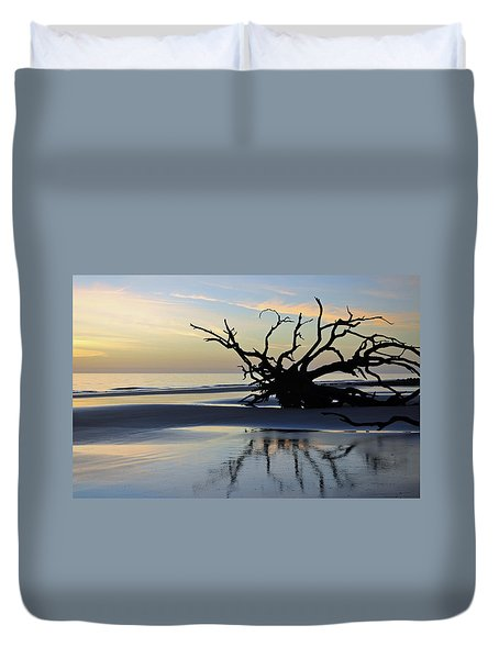 Sunrise At Driftwood Beach 6.6 Duvet Cover