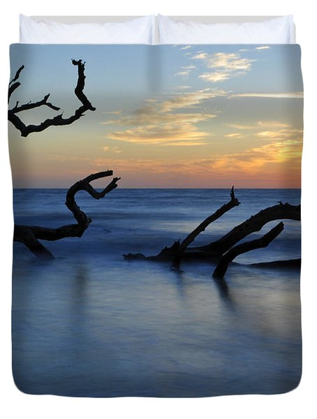 Sunrise At Driftwood Beach 7.3 Duvet Cover