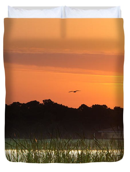 Sunrise At Lakewood Ranch Florida Duvet Cover