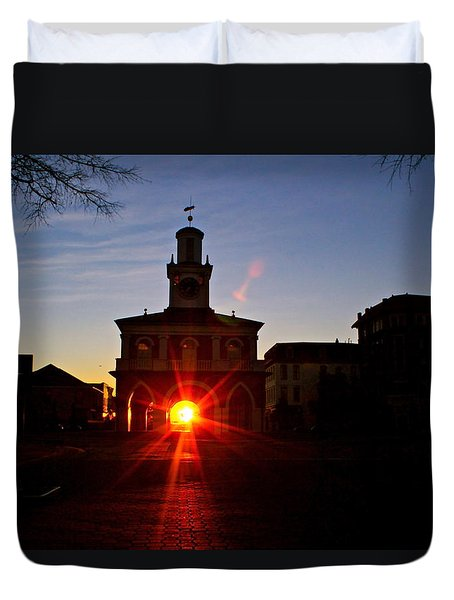 Historic 2 Duvet Cover