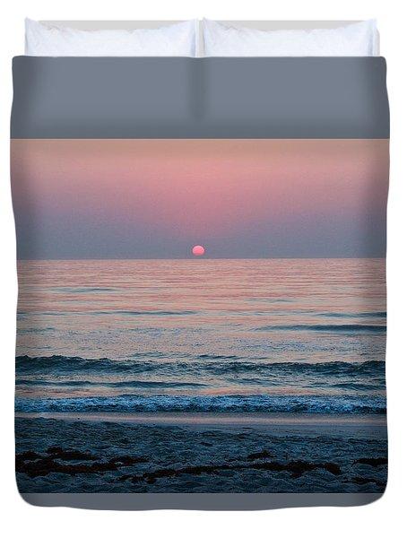 Sunrise Blush Duvet Cover