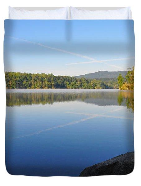 Sunrise Cross Duvet Cover