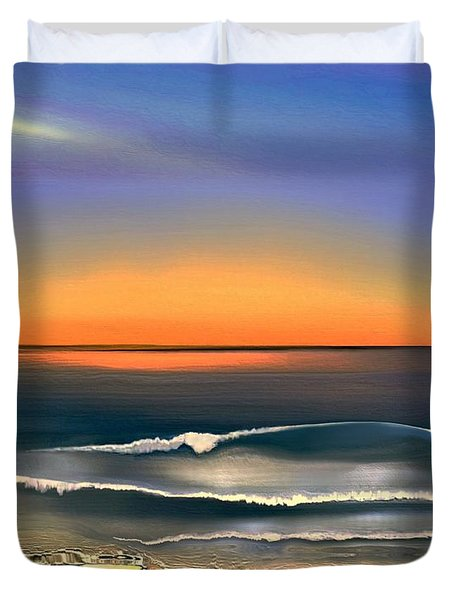 Sunrise Duvet Cover by Dale   Ford