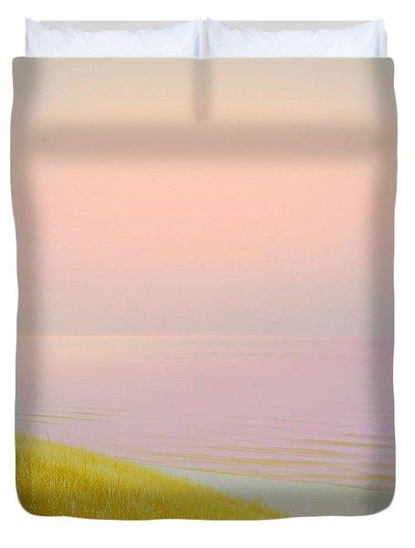 Sunrise Dune Duvet Cover by Michelle Calkins