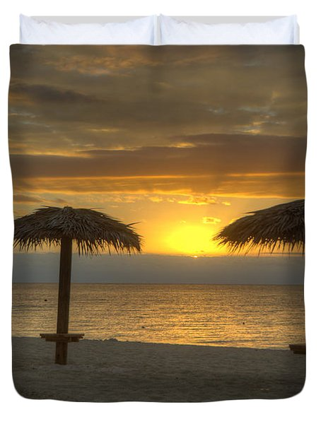 Sunrise Glory Duvet Cover