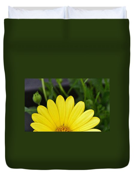 Duvet Cover featuring the photograph Sunrise by Larry Bishop