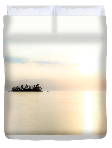 Sunrise Mist Duvet Cover