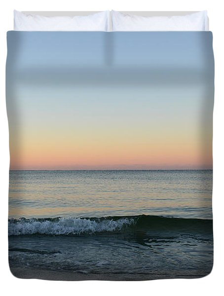 Sunrise On Alys Beach Duvet Cover by Julia Wilcox