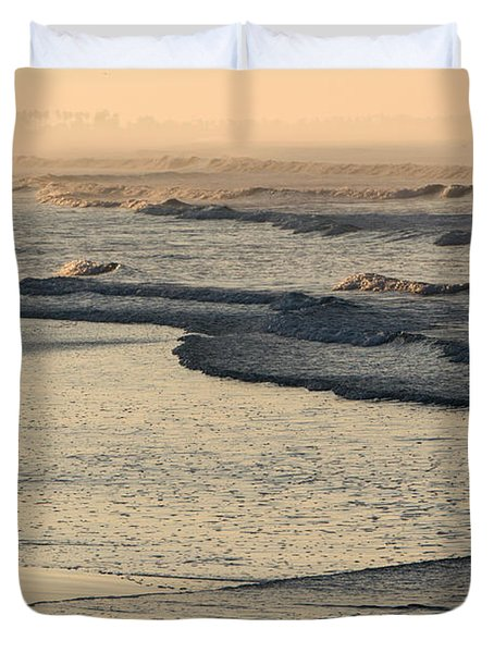 Sunrise On The Ocean Duvet Cover