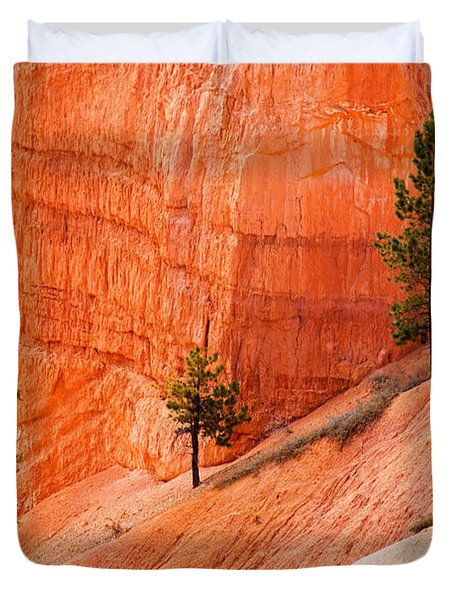 Sunrise Point Bryce Canyon National Park Duvet Cover
