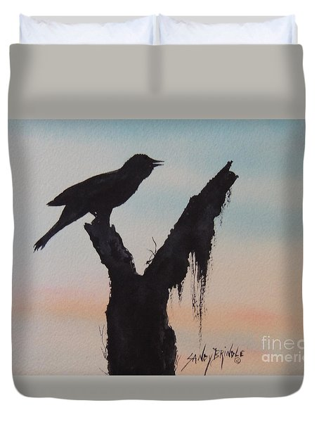 Sunrise Singer Duvet Cover
