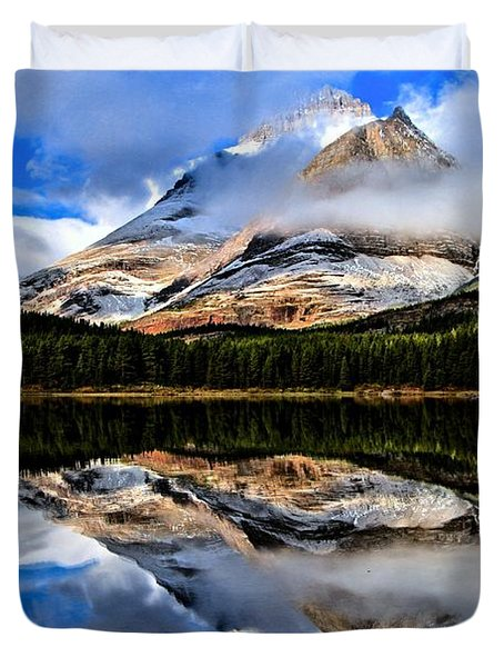 Sunrise Surprise Duvet Cover by Adam Jewell