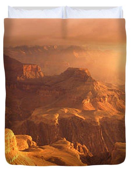 Sunrise View From Hopi Point Grand Duvet Cover