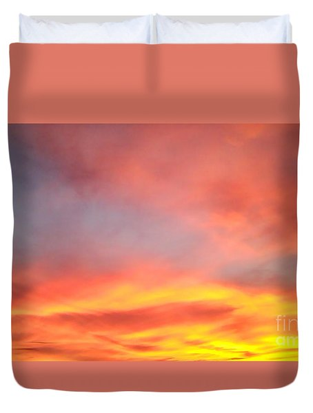 Sunset 4 Duvet Cover