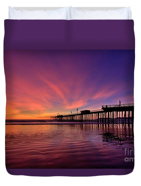 Sunset Afterglow Duvet Cover