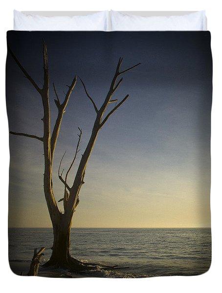Sunset At Lovers Key Duvet Cover