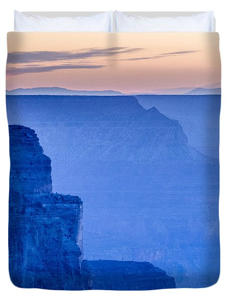 Sunset At The South Rim Duvet Cover