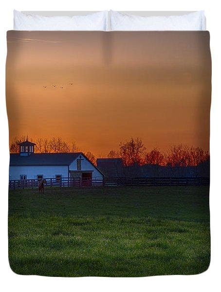 Walmac Farm Ky  Duvet Cover