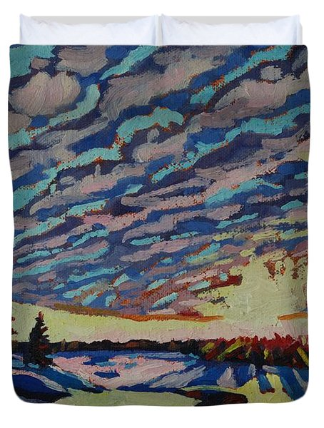 Sunset Deformation Duvet Cover
