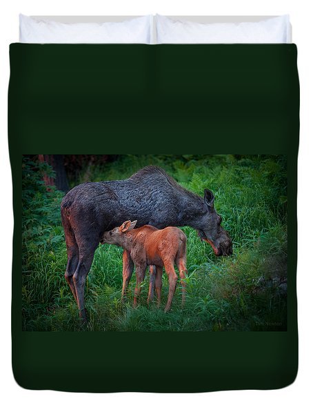 Table For Two Duvet Cover