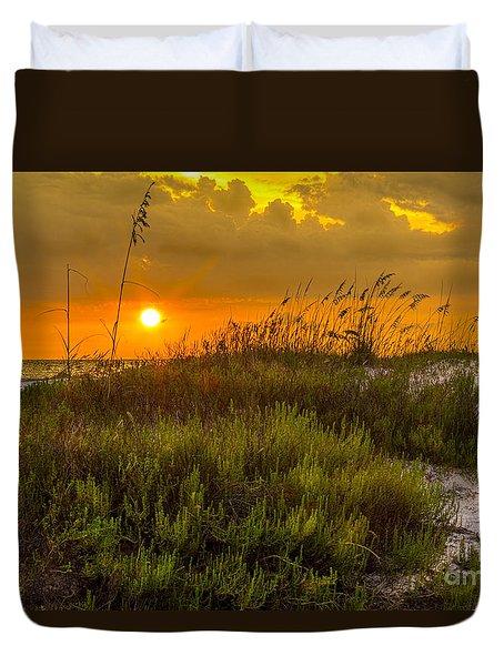 Sunset Dunes Duvet Cover