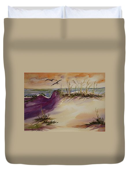 Sunset Dunes Duvet Cover