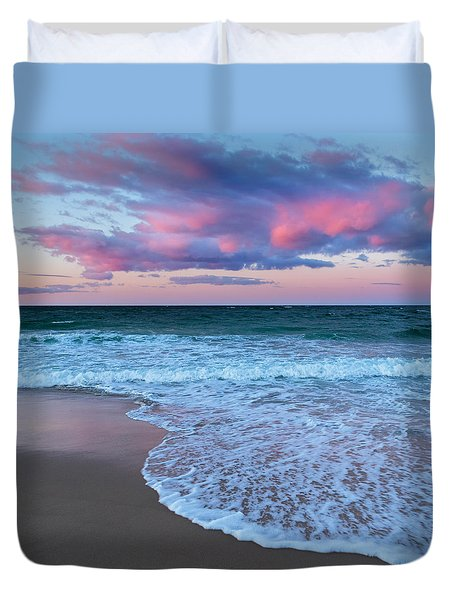 Sunset East Square Duvet Cover