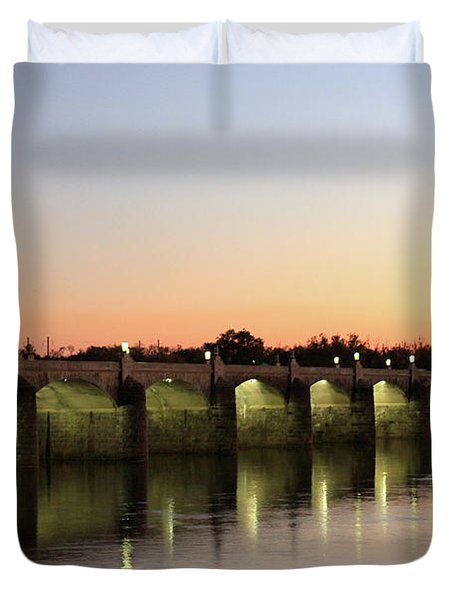 Sunset Hues Duvet Cover