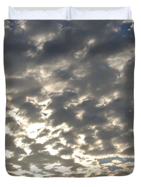 Sunset Landscape Xiii Duvet Cover