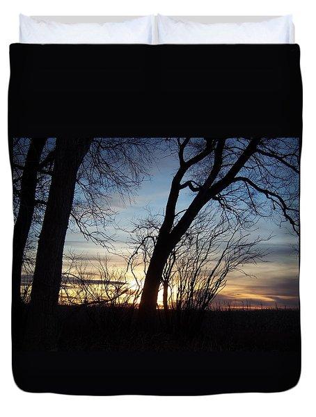 Idaho Sunset 1 Duvet Cover