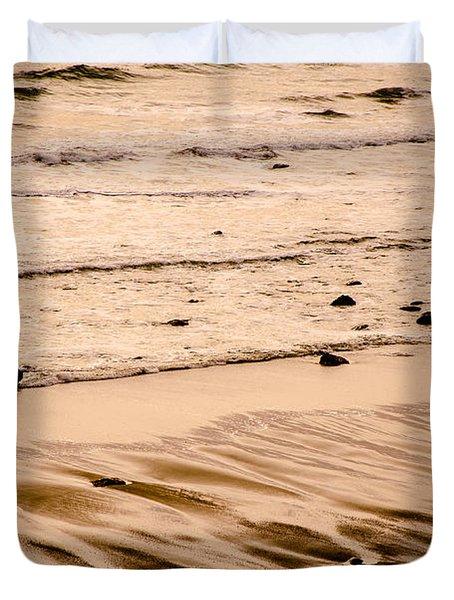 Sunset Palette Wreck Beach Duvet Cover