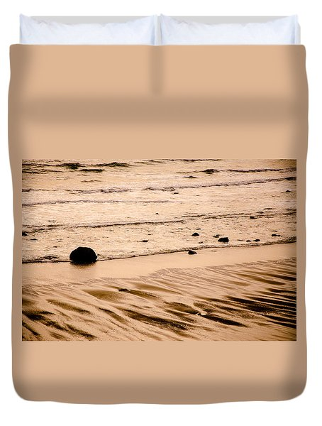Sunset Palette Wreck Beach Duvet Cover by Roxy Hurtubise