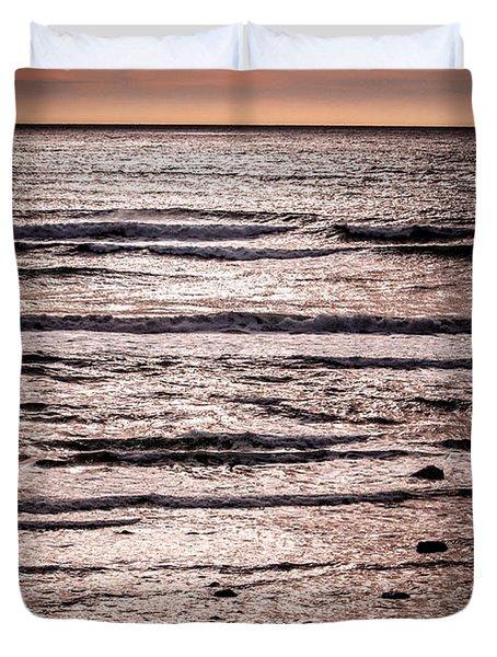 Sunset Ocean Duvet Cover